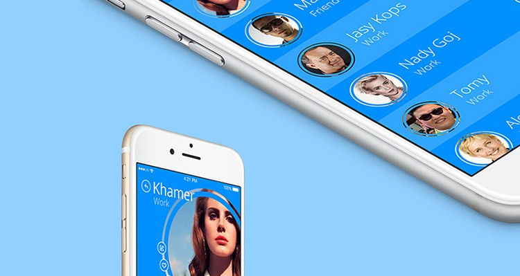 iOS 8 Concept Address Book Free Download