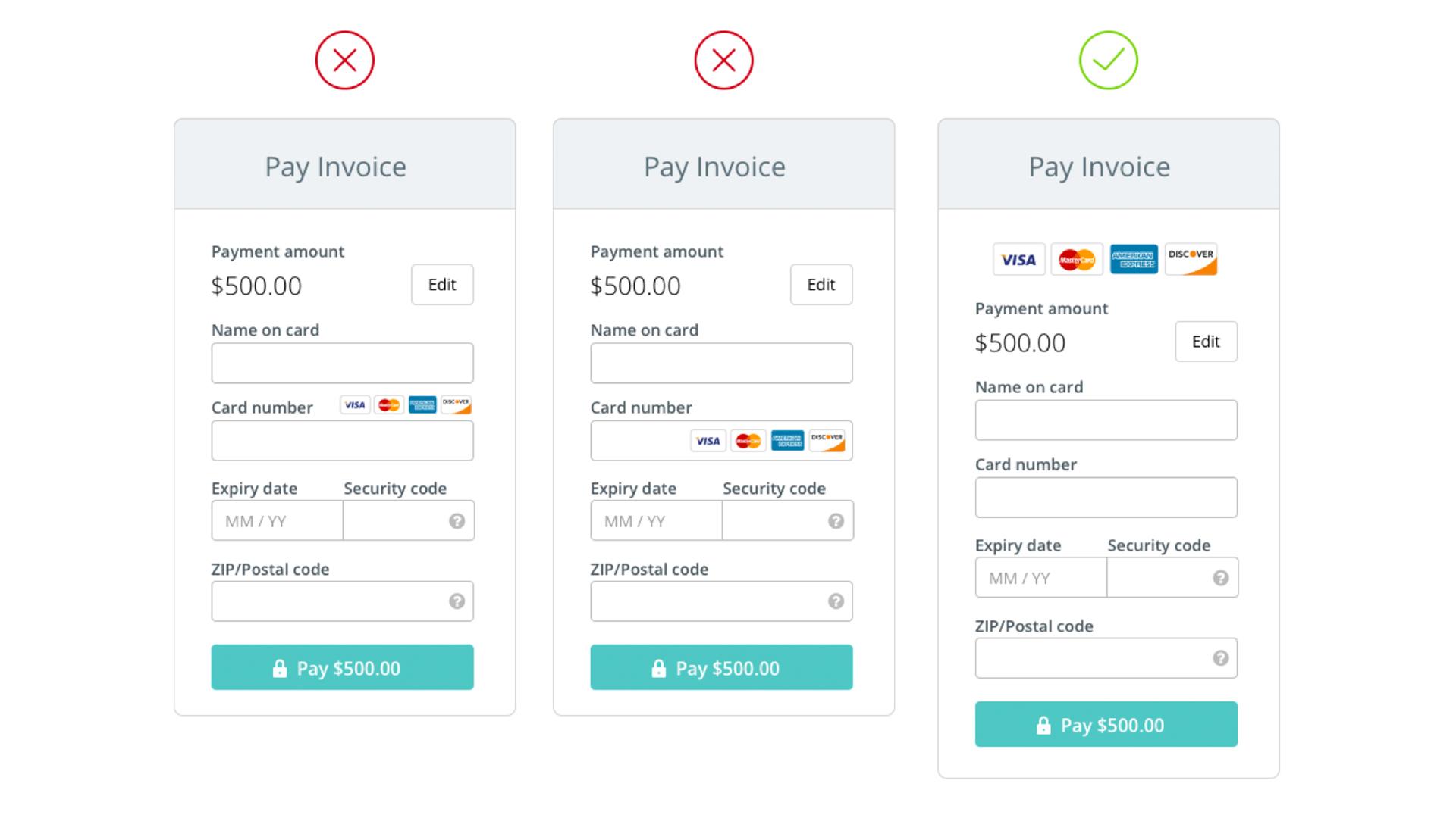 Mobil Uygulamalarda Kredi Kartı Ödeme Ekranları